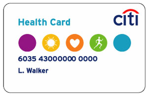 citi-health-card